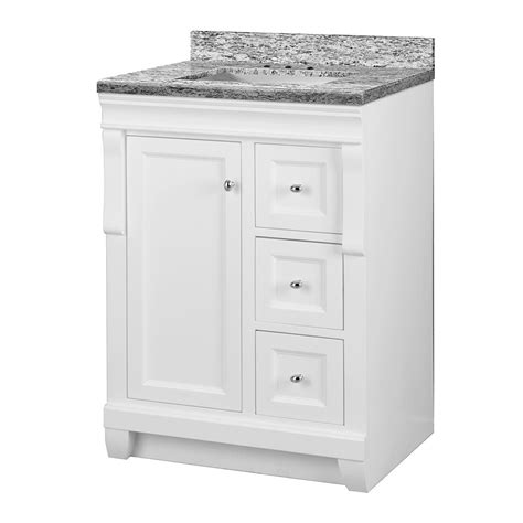 Foremost Naples Vanity White by Foremost Naples 25 In W X 22 In D Vanity In White With
