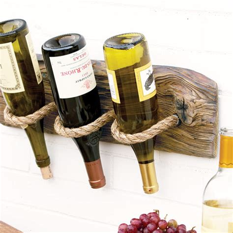 recycled wood wine rack all gifts olive cocoa