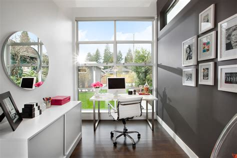 Home Office Design Trends 21 Gray Home Office Designs Decorating Ideas Design