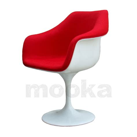 Tulip Armchair by Tulip Armchair W Fabric Seat Mooka Modern Furniture