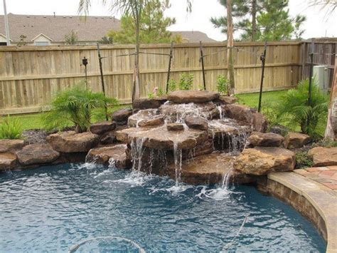 pool waterfall ideas pool waterfall ideas you can recreate in your backyard