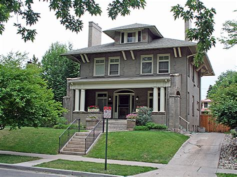Octagon House Plans by American Foursquare Style