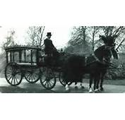 Vintage Horsedrawn Hearse  Mortuary Pinterest