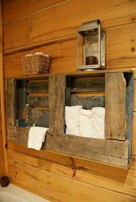 Badezimmer Unterschrank Aus Paletten by Rustikale Badm 246 Bel Ideen Das Badezimmer Im Landhausstil
