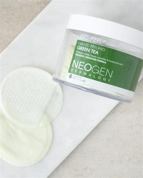 Neogen Dermalogy Gauze Peeling Greentea 30pads bio peel gauze peeling green tea by neogen soko glam
