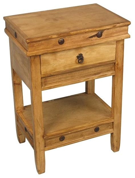 nightstands bedside tables rustic pine side table traditional nightstands and