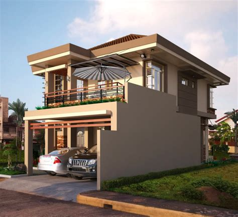 balcony designs for small houses two double storey houses with small balcony amazing architecture magazine