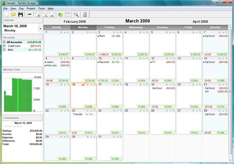 Budget Calendar The Best Calendar Based Finance Management Apps
