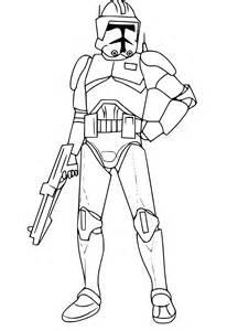 Coloriage Cody Star Wars 224 Imprimer