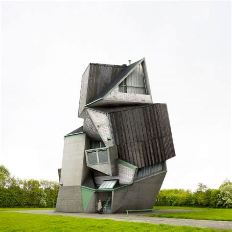 house structure design surreal and weird houses designs using photo montage