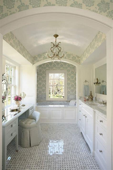 Tapisserie Salle De Bain papier peint pour salle de bain 45 id 233 es magnifiques