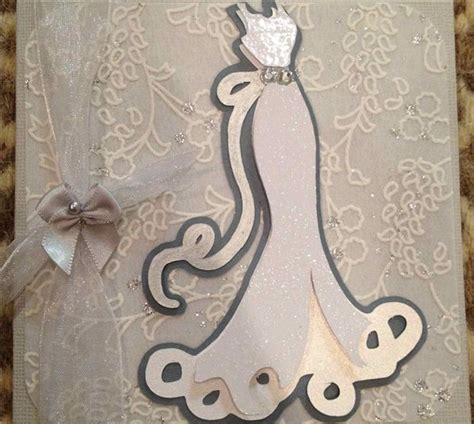 cricut bridal shower card ideas this card was made using the wedding cricut cartridge and punched small flowers with pearls and