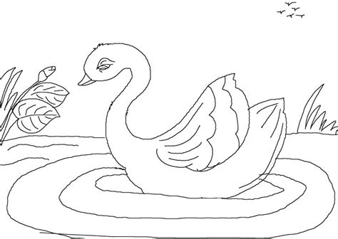 the ugly duckling coloring pages www imgkid com the