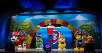 nickalive paw patrol live race rescue jersey performing arts center