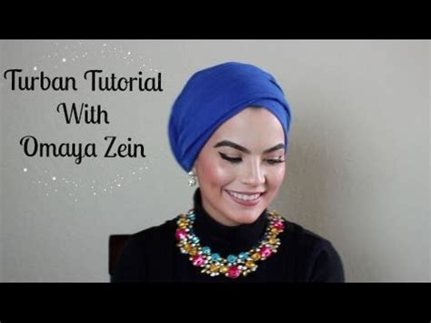 turban tutorial video omaya zein turban tutorial youtube