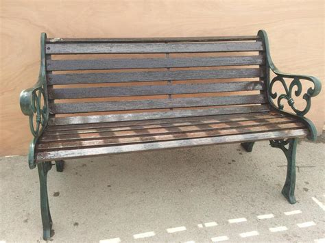 cast iron park bench replacement slats original cast iron wood wooden slats garden park bench