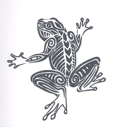 tribal frog tattoo designs tribal frog tattoos my tattoos zone
