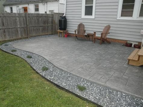 poured concrete home house tour boulevard poured concrete patio sted