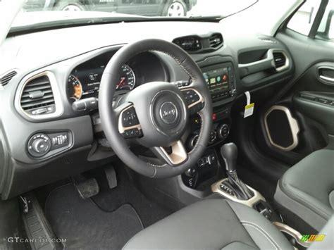 jeep renegade interior colors 2015 glacier metallic jeep renegade limited 4x4 102469466