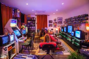room updated retro gaming