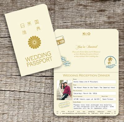 Wedding Invitation Japanese by Japanese Wedding Invitations