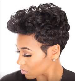 short black hair style for 40yearold spring and summer short hair styles for black women and