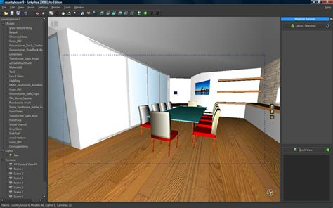 tutorial video kerkythea architectural rendering with sketchup and kerkythea