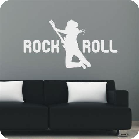 rock and roll schlafzimmer wandtattoo rock roll wandprinz ch