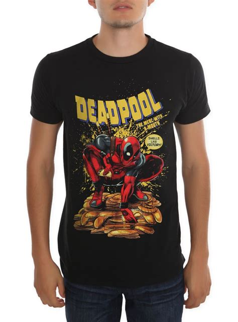 Kaos Deadpool 18 deadpool t shirt topic cardigan with buttons
