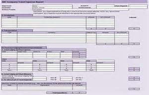 Business Trip Expenses Template Useful Ms Excel And Word Templates For Business Owners