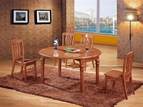Oak Dining Room Tables And Chairs Factory Direct Oak Dining Tables And Chairs With A Turntable Table Solid Wood Dining Table And