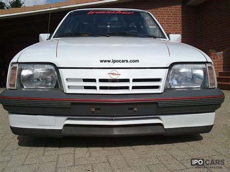opel ascona sport 1988 opel ascona c gt sport gt car photo and specs