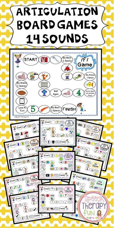 printable articulation board games as 25 melhores ideias de articulation games no pinterest