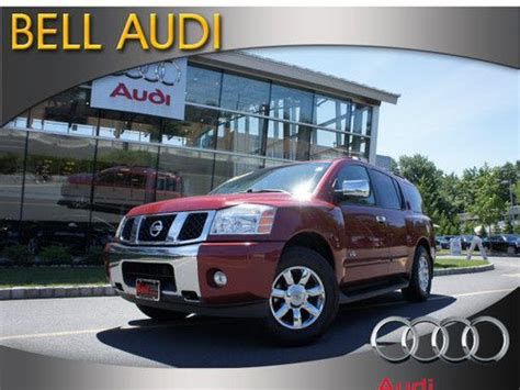 used nissan armada for sale in nj sell used 2006 nissan armada se 4x4 in edison new jersey