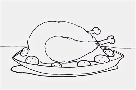 cooked turkey coloring page free free printable coloring sheets for thanksgiving kids