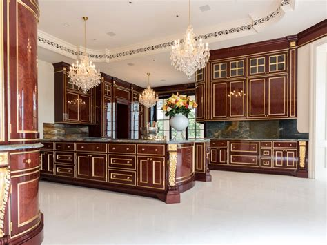 most expensive kitchen cabinets an insane florida mansion that was once the most expensive