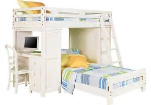 Student Loft Bed With Desk by Rooms To Go Kids Affordable Kids Bedroom Furniture Store