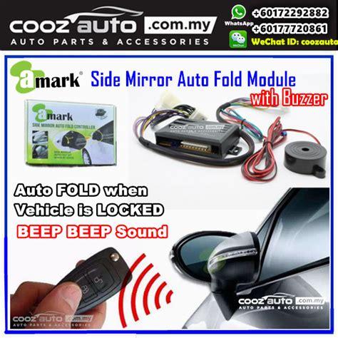 honda crv cr     mark side mirror auto fold folding controller module  alarm buzzer