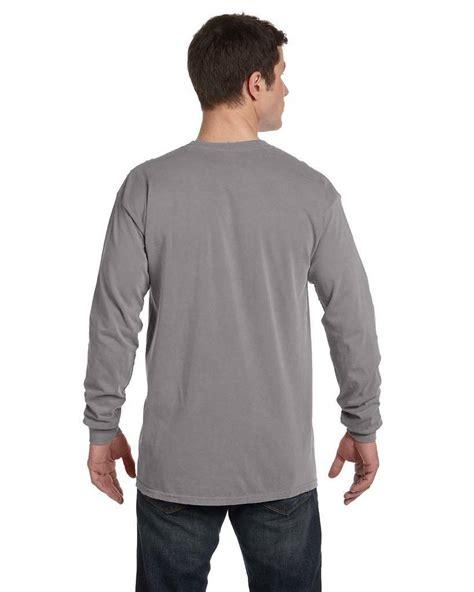 comfort colors sleeve comfort colors c6014 sleeve t shirts shirtspace