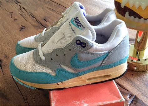 Nike Airmax Biru Aqua Made In wmns nike air max 1 og 1988 292747 from oliver fischhaber at klekt