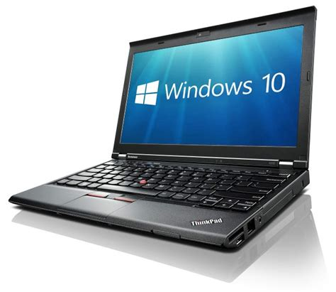 Lenovo Thinkpad X230 refurbished lenovo thinkpad x230 windows 10 laptop
