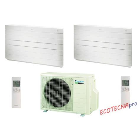 condizionatori a pavimento climatizzatore multisplit a pavimento daikin dual nexura u