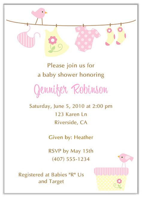 Clothesline Baby Shower Invitations by Trendy Clothesline Baby Shower Invitations Boy