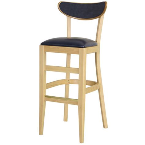 Oval Back Bar Stool by Dominion 276usb Oval Back Bar Stool Upholstered Back