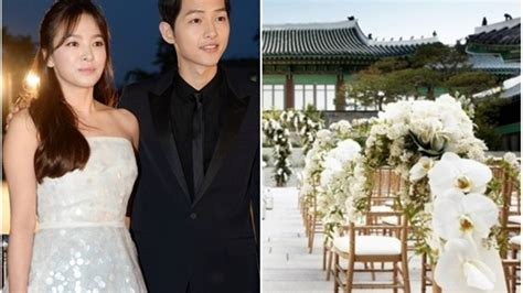 Wedding Song Hye Kyo by This Is What Song Joong Ki And Song Hye Kyo S Wedding