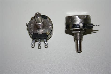 variable resistor or potentiometer 5k potentiometer variable resistor 10 2 watt linear 1 per sale