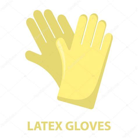 imagenes con latex guantes de goma de dibujos animados icono ilustraci 243 n