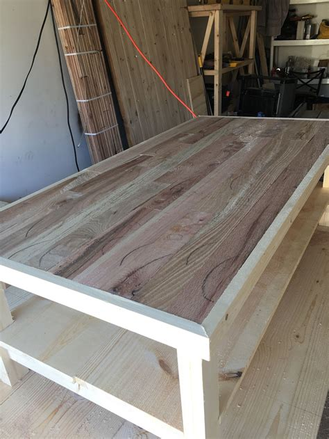tongue and groove coffee table crafted 2 x4 coffee table with reclaimed tongue and
