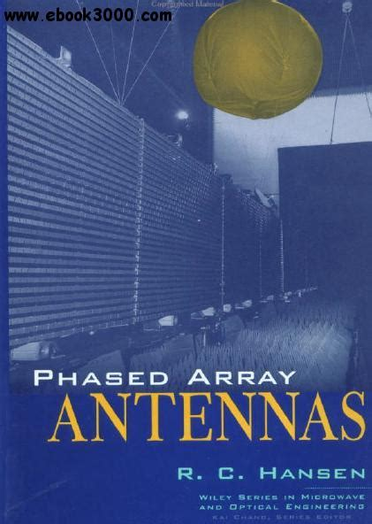 phased array antenna handbook antennas and electromagnetics books radar techniques using array antennas free links