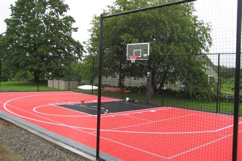 Diy Backyard Basketball Court by Backyard Basketball Court Ideas Marceladick